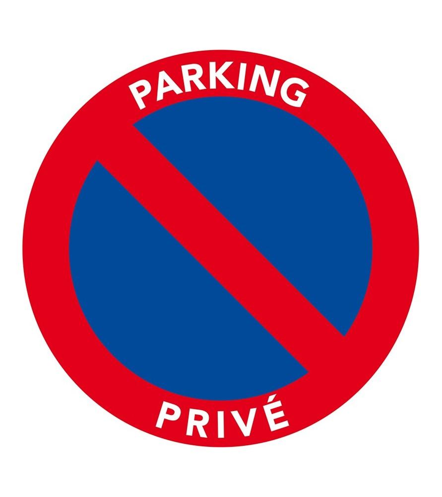 Stationnement interdit car parking privé